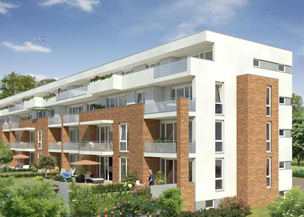 Primus 2 Gartenseite - Architekt Albert Jo Meyer