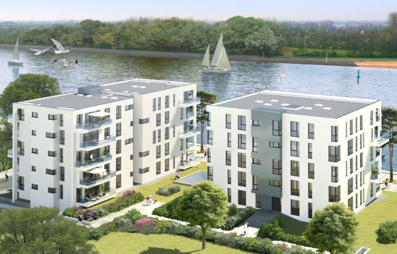 Aqua Viva - 35 Eigentumswohnungen