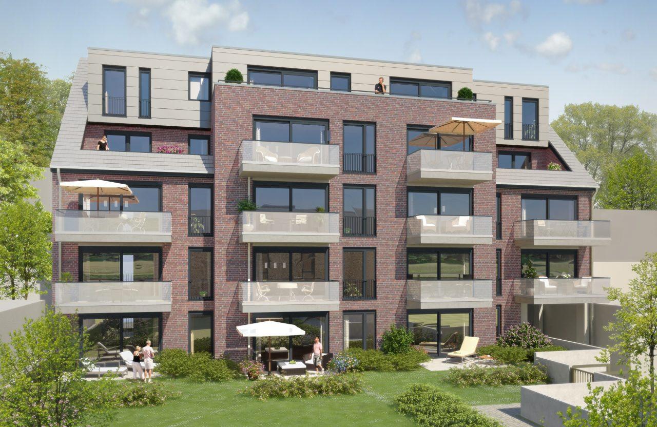 Domicile GT Haus 1 - Gartenseite