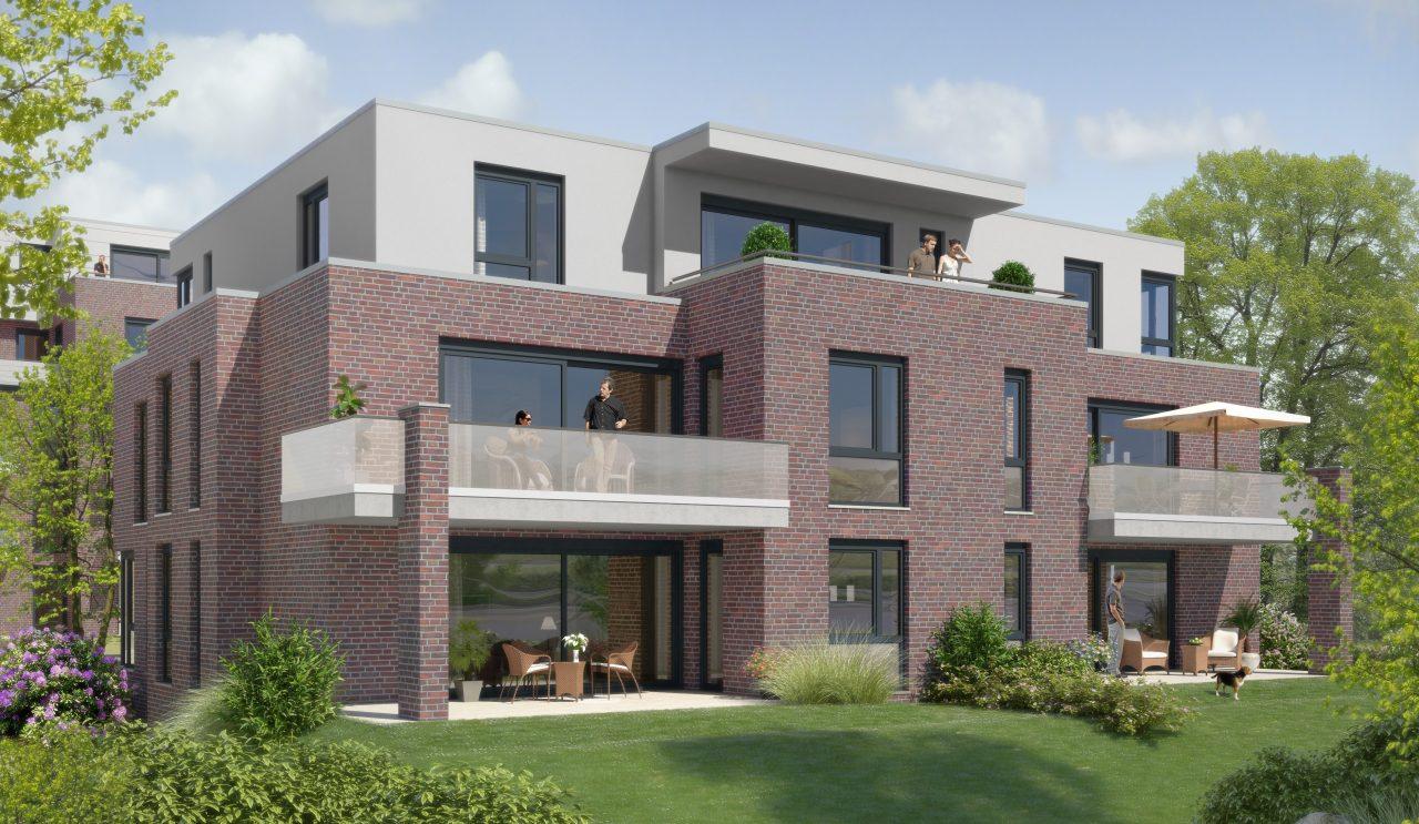 Domicile GT Haus 2 - Gartenseite